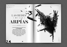 CiudadVaga magazine layout #layout #editorial #colombia #design #typogaphy