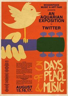 NEWWOODSTOCK.jpg 811×1.144 Pixel #woodstock #twitter #vintage #poster #art #music