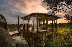 LionSandsGameReserveSouthAfrica6 #africa #architecture #house #tree