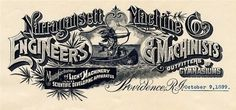 Letterheads from the 1800s | Vintage Me Oh My #1800s #letterhead #typography