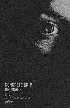 Concrete Grip | Flickr - Photo Sharing! #nick #photograph #poster #tibbetts #band