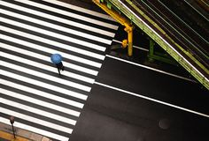 Navid Baraty #crosswalk #city #stripes #photography #intersection