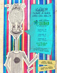 """""""Flyer Lo Mejor de la Ciudad"""" by Molly Yllom #illustration #character #design"""