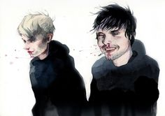 portraits on the Behance Network #blood #larin #behance #dmitriy #art #rebus #watercolor