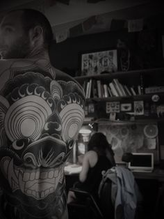GUY LE TATOOER #illustration #ink #tattoo #back