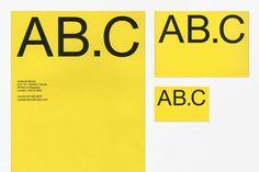 Letterhead, typography