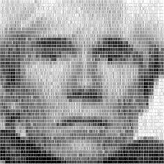 Scannable Barcode Portraits of Celebrities - My Modern Metropolis #barcode #andy #warhol #art