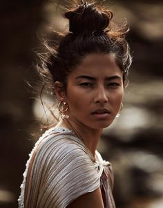 Jessica Gomes by Steven Chee for Fashion Gone Rogue #eyes #image #figure #portrait #rogue #fashion