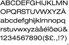 Helvetica Neue Extended #typo