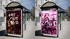 Art Out Loud for LexArts #Posters