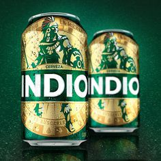 Indio Cans #packaging #beer #bottle