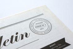 newspaper stamp detail
