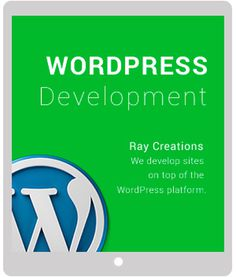 WordPress development graphic #wordpress #development
