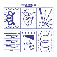 Faites plus de #typography #type #icons #font #figures