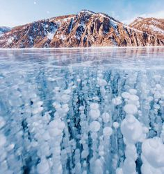 Frozen Baikal: The World's Oldest and Deepest Lake by Kristina Makeeva