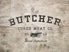 Cured Meat #logo
