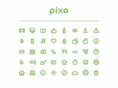 Pixo Icon Set