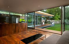 kube architecture modern addition, via Plastolux #modern #addition #interiors #renovation