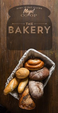 Gorgeous Branding #branding #packaging #design #food #brand #identity #logo #gourmet #bread #typography