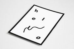 RGB Postcards Luis Othón #print #hello #postcard