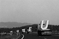 "MANSILLA+TUÃ'Ã""N ARCHITECTS: (43) MUSEU. 1999. #type #photography"