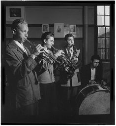 [Metropolitan Vocational High School, New York, N.Y., ca. July 1947] (LOC) | Flickr - Photo Sharing! #band