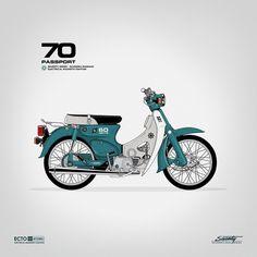 Gianmarco Magnani | BLDGWLF #illustration #moped