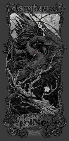 Aaron Horkey – Lord of the Rings Return of the King Variant | /Film