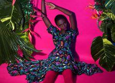 Popart and Vibrant Fashion Photography by Elena Iv-skaya