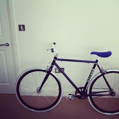My Bike – Jon Cleave #bicycle #modern #hipster #contemporary #bike #blue