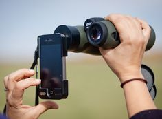 Carson HookUpz iPhone Adapter for Binoculars #gadget