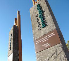 Fundación Temaikèn – Acceso al Bioparque #park #wayfinding