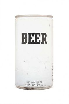 Simple Beer Packaging #packaging #beer #can