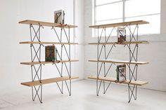 Holdfast by Sam Weller #furniture #bookshelf #minimal design