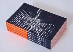 Typeforce Exhibition Catalogue on the Behance Network #spine #photo #book #cover #typeforce