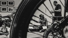 WHEELS & WAVES 2014 on Behance by Laurent Nivalle #photography #moto #b&w
