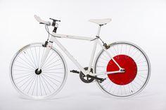Copenhagen wheel bicycle