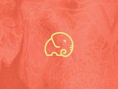 ThaiAndMighty_Bullhorn #truck #logotype #visual #logos #branding #food #elephant #brand #identity #logo