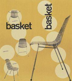 Max Huber, Basket, 1951