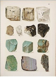 rocks.jpg (349×480) #stones #rocks #crystals #illustrations
