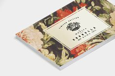 MONICA on Behance #business card #label #stationary #floral