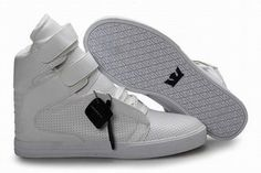 Supra Kid Footwear Tk Society ALl White - Supra Skate Shoes #shoe