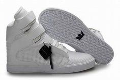 Supra Kid Footwear Tk Society ALl White - Supra Skate Shoes