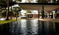 Seafront House as Paradise Retreat at Thailand swimming pool #house #design #dream #home #pool #architecture