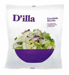 Ensaladas D'illa | nosolotinta. #packaging #salad #nosolotinta #murcia