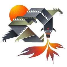 dragon.jpg (JPEG Image, 450x450 pixels) #illustration #dragon #art