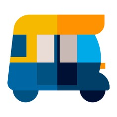 See more icon inspiration related to tourism, rickshaw, travel, cultures, Tuk tuk, transportation and transport on Flaticon.