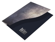 #Folder from CompanyFolders.com (Front Angled Open View) #PocketFolder #PresentationFolder #FolderPrinting