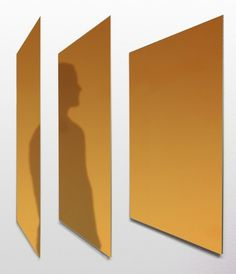 Memoir Mirror by Joe Doucet #design #product #furniture #mirror #gold