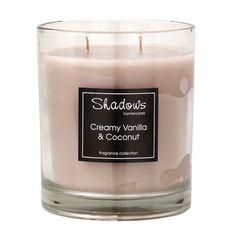 2-wick Jar Creamy Vanilla & Coconut Scented Candle